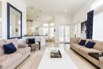 Make priceless vacation memories while relaxing in this gorgeous living room