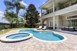 Take advantage of your own private pool area