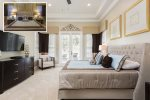 Stay in elegance with this beautiful and luxurious downstairs master bedroom