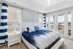 Head upstairs to the Master Suite with a King sized bed