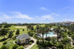 Enjoy golf views from your balcony