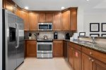 Cook up your favorite snack or a morning coffee in this fully equipped kitchen
