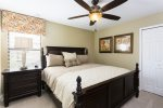 Yet another gorgeous king bedroom located on the second floor