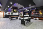 Featuring your own Jumbotron the entire family will love the WOW factor of this games room