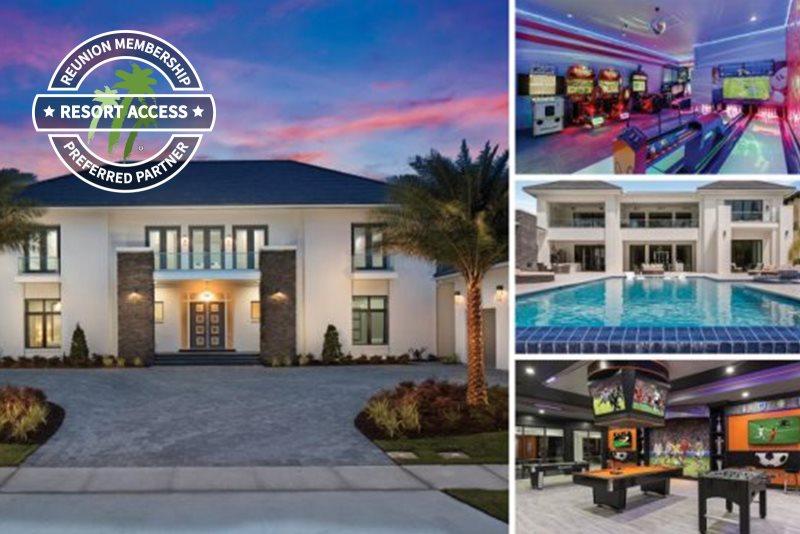 10 Bedroom Luxury Villa in Reunion Resort - Orlando, Florida