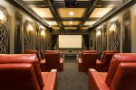 Private theater perfect for a movie night in the comfort of your own home