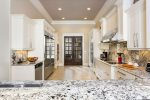 Gorgeous granite countertops and plenty of space to prepare delicious meals