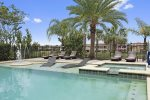 Relax in the pool with views of the Jack Nicklaus golf course
