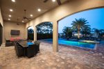 After a long day of enjoying the Florida attractions, hang out in your own private courtyard