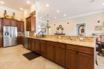 Unleash your inner chef in this fantastic kitchen featiring high end appliances and granite countertops