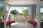 Step on to the balcony to your own scenic oasis