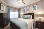 This beautiful master bedroom also offers an en-suite bathoom