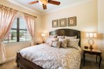 Awake rejuvenated in luxury bedding featured throughout the home and in upstairs master suite 6 bedroom