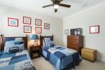 Sleep well and be ready for the next day`s adventure in this twin/twin bedroom