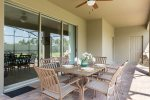 Enjoy a meal or drink in the lanai and take in the Florida nature around you
