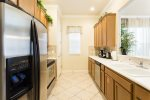 This beautiful kitchen offers stainless appliances and lots of counter space