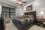 The second floor Dallas Suite with king bed is perfect for your vacation