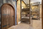 This bedroom will make a magical vacation for your kids