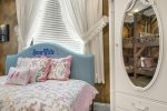 The a twin daybed is the perfect place for any little princess to rest her head