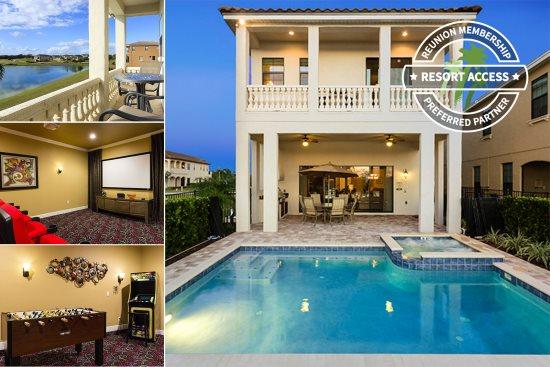 Luxury Villa Rentals Orlando Vacation Homes Reunion