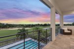 Sunsets on your private balcony are breathtaking