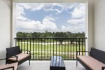 Enjoy the views from your private balcony whilst vacationing