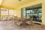 Dine Alfresco in your screened in patio
