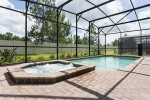 Relax in your own private screened in pool