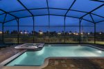 Evenings out by your private pool will be perfect after a long day in the parks.