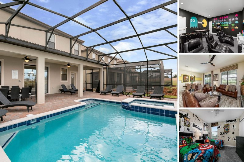 Amazing Country Club View Reunion Vacation Homes Orlando Pool Home Home Interior And Landscaping Dextoversignezvosmurscom