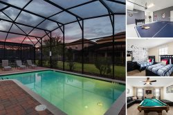Oasis Holiday | Great Value Pool Home with Kids Theme Room and Games Room