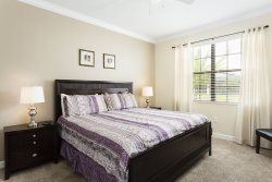 Get comfortable in the master bedroom