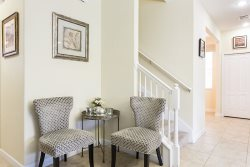 Beautiful foyer welcomes you into the rest of the home