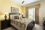 Let go after a busy day at the parks in this queen bedroom