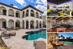 Vacation in 4,678 sq ft of luxury with plenty of amenities in the home