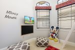 The kids will love having their own TV and play area