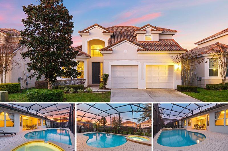 5 Bed Windsor Hills Resort Vacation Rental Home
