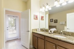 Enjoy private pool access in the master ensuite bathroom