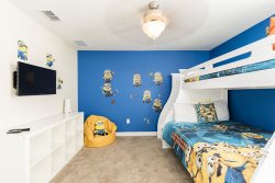 Let the kids decide which bunk they will sleep in their own bedroom