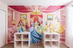 The princesses will love this next themed bedroom