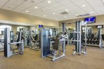 Resort fitness room