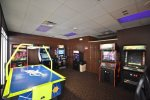 Arcade available at the Seven Eagles Pavilion