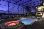 Have a late night dip, the pool is yours at all hours