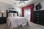 Rest well in this beautiful upstairs queen bedroom