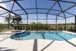 Step in your private pool to cool down from the Florida weather