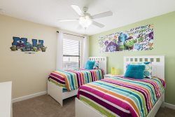 The kids will love this themed bedroom