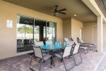 Have your meal al fresco and enjoy beautiful Florida weather