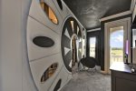 Entering this custom built kids bedroom is like entering a galaxy far, far away