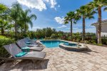 Catch the Florida sun in the west facing pool.