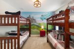 The kids will love hanging out with Woody and Buzz in this bedroom.
